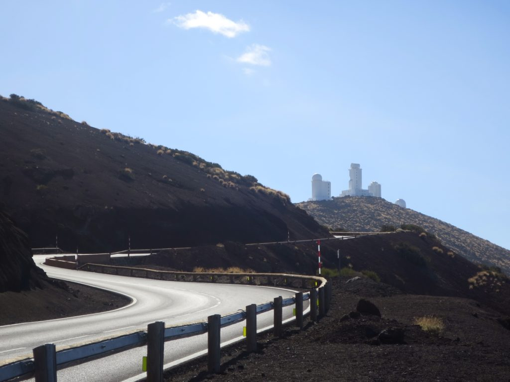 observatoř na sopce Teide