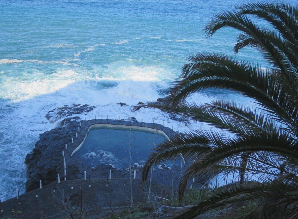 Opuštěný slaný bazén, Puerto de la Cruz