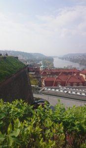Vltava z Vyšehradu
